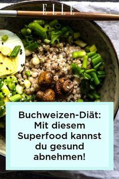 Buchweizen kann in der richtigen Diät nicht nur die Gesundheit unterstützen und wichtige Nährstoffe geben, sondern auch beim Abnehmen helfen. #abnehmen #buchweizen #rezepte #food #gesundheit #ernährung