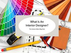 What Is An Interior Designer? If you've ever wondered what is involved in being an interior designer then this post is for you. Breaking down the multitude of skills that you need to become a successful designer.