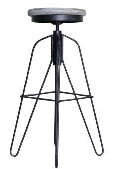 The Ava barstool, with its swivel metal base and round wood top is simple but yet fashionable. Ava, Bar Stools, Dining Chairs, New Homes, Metal, Simple, Wood, Furniture, Rowan