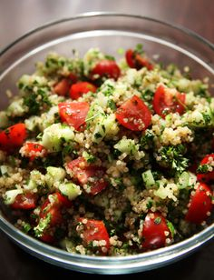 Easy Quinoa Tabbouleh Recipe . Kitchen Explorers . PBS Parents | PBS