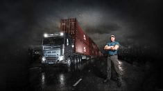 Volvo Trucks enlists world's strongest man to tug 1.65 million pounds