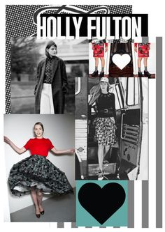 Holly Fulton Customer Profile board created by me, Harriet King. Holly Fulton, Fabric Board, Fashion Marketing, Company Profile, Boards, Ballet Skirt, Layout, Textiles, King