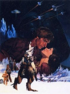 Concept art for The Empire Strikes Back movie poster by Tom Jung
