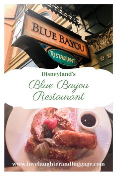 Blue Bayou Restaurant: Dining at Disneyland's Pirates of the Caribbean If you're planning a trip to Disneyland in California, consider putting the Blue Bayou Restaurant on your itinerary. Enjoy your meal as boats from Pirates of the Caribbean float by. Disneyland Restaurants, Disneyland Food, Blue Bayou Disneyland, Disneyland Secrets, Disney Tips, Disney Food, Disney Snacks, Disney Vacations, Disney Travel