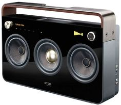 By Andrew Liszewski There have been a few attempts to revive the iconic 'boombox' . Read more TDK Revives The Boombox – Time To Stock Up On 'D' Sized Batteries! Boombox, Lps, Radios, Mixtape, Tech Updates, Audio Speakers, Portable Speakers, Audio System, Tech Gadgets