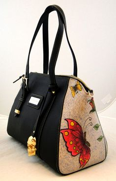 Handmade Tattoo Bag: Pawn Tattooed (Butterfly)