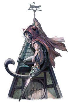 evawidermann:Because cats <3New artwork for Pathfinder © Paizo Publishing