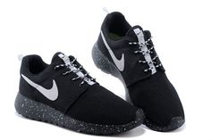 56% off Cheap Womens Nike Roshe Run Id 2015 511881 116 Black Black White  Cheap 39926383d20a