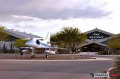 The Pima Air & Space Museum, in Tucson, is one of the world's largest non-government funded aerospace museums. The museum features a display of nearly 300 aircraft spread out over 80 acres on a campus occupying 127 acres. It is also, since 1991, home to the Arizona Aviation Hall of Fame.