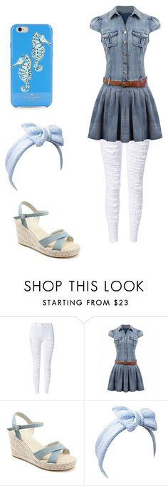 """""""Style #8"""" by eliey ❤ liked on Polyvore featuring Beauxoxo and Kate Spade"""