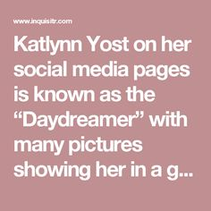 """Katlynn Yost on her social media pages is known as the """"Daydreamer"""" with many pictures showing her in a gray-fox costume. The 17-year-old teen is custody also facing murder charges. She was confirmed to be in a relationship with Frank Felix. An unconfirmed story has it that Katlynn convinced Frank to help her commit murder and was never an innocent part of the tragedy as she was always resentful towards her mother and deemed mentally unstable."""