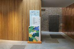 Pentagram partners give Garden Museum abstract new look - Design Week