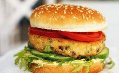 Burgery z dorsza Salmon Burgers, Chicken, Ethnic Recipes, Food, Essen, Meals, Yemek, Eten, Cubs