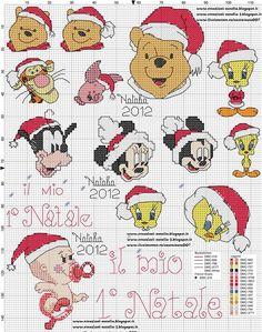 Disney Christmas Cross Stitch