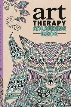 The Art Therapy Colouring Book by Richard Merritt | 17 Colouring Books That Every Grown-Up Needs