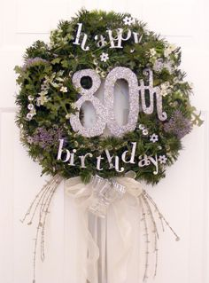 Birthday Wreath designed by Suzanne Woodie at heritagebooks.wordpress.com