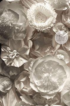 ORK'IDEA ATELIER: DECORARE CON I FIORI IN CARTA / Paper flower décor