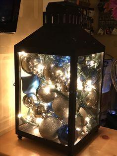 Christmas Ornament Lantern