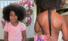 Naturally Triece: 3 Cute, Simple & Healthy Hairstyles For Your Baby Girl. http://naturallymoi.com/category/hair/