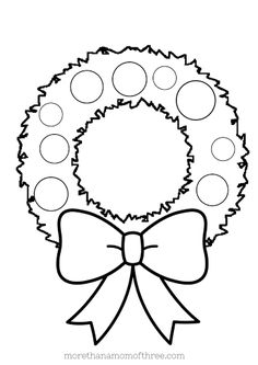 1000 images about wreaths on pinterest  clipart black and white christmas wreaths and