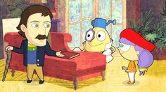 Art with Mati and Dada – Paul Gauguin | Kids Animated Short Stories in E...