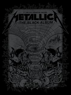 Metallica- more Pushead art Hard Rock, Aesthetic Art, Aesthetic Pictures, Heavy Metal, Rock And Roll, Poster Wall, Poster Prints, Metallica Art, Rock Band Posters