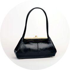 The Lena Bag  Black from Revival Retro