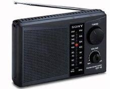 Sony ICF-18 Personal Portable 2-Band AM/FM Radio by Sony. $19.49. Sony ICF-18 Personal Portable 2-Band AM/FM Radio