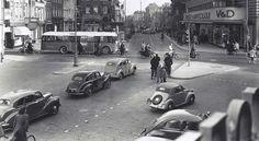 Het Verwulft in Haarlem in de jaren 40.