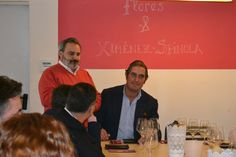 2º #MartesDeCata Flores&Ximenez Spínola. Bienvenida a cargo de nuestro socio José Vicente Flores