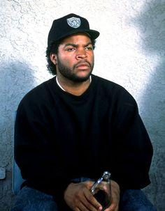 Ice Cube  True West Coast lyricist. Wrote most of the lyrics for NWA.  Who knew he'd become movie producer extraordinaire?!?!