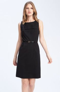 """Kate Spade New York """"Francie"""" Ponte Dress in Black  I don't know where I would wear it, but I sure love it."""