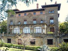 Guecho, Neguri - Palacio del Marques de Olaso Bilbao, Basque Country, Plaza, House Styles, World, Reindeer, Mansions, Walks, Antique Photos