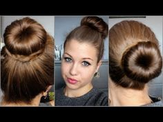 French Twist into Rope Braid | Back-to-School | Cute Girls Hairstyles - YouTube