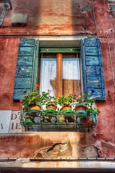 Flower Pot Window, Venice, Italy ....im there