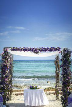 Our little slice of paradise lends itself to romance. #RivieraMaya #WeddingDestination