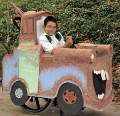 Mater- Costume for kids in wheelchairs.