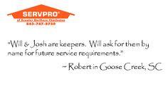 Thank you, Robert! Goose Creek, SC