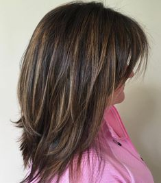 Medium-To-Long Layered Haircut