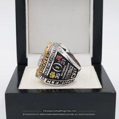 2016 Clemson Tigers National Championship Ring - ChampionshipRingClub.com
