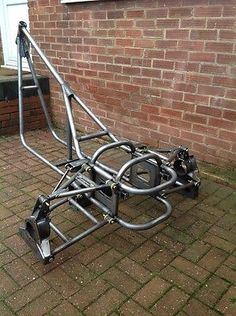 trike frame chassis soft tail ebay