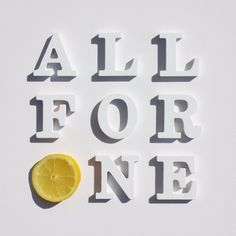 NEW SINGLE. ALL FOR ONE.