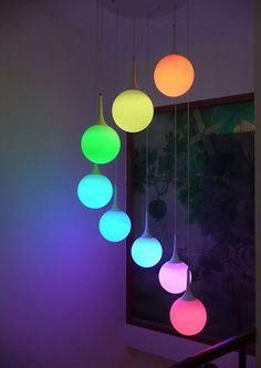 I wanna make a funky lamp similar to this. Though battery powered, our Light Up Deco Balls could be used for such a DIY party craft, they'll go all night, plus each ball has changeable batteries: http://www.flashingblinkylights.com/mood-light-garden-deco-balls-floating-light-up-orbs.html?utm_source=pinterest&utm_medium=led%20light%20up%20deco%20balls&utm_campaign=funky%20lamps