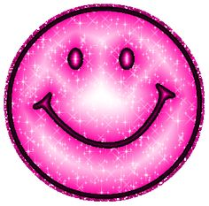Pink Purple Glitter Smiley Face Image: Graphic Comment Meme or GIF Purple Love, All Things Purple, Shades Of Purple, Pink Purple, Gifs, Smiley Face Images, Smiley Faces, Stickers Emojis, Beste Gif