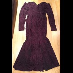 """Dried up dress. What do you think?  #iDyePoly #TLC #Costumes #Morticia #AddamsFamily #Patternmaking #sewing"""