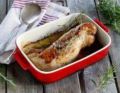 Baked pork tenderloin- Recipe – Filet mignon of pork baked step by step - Pork Tenderloin Recipes, Pork Roast, Filet Mignon Porc Four, Pizza Lover, Country Dinner, Baked Pork, Pork Dishes, Family Meals, Dinner Recipes