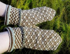 hand knitted latvian traditional wool by peonijahandmadeshop