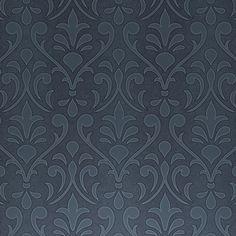 Diseño tipo barroco en piel. Papel pintado de la colección Murogro Decoskin de Sirpi