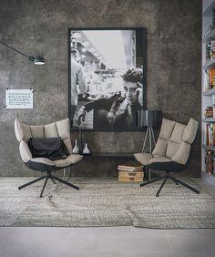 Reading corner on Behance Home Design, Home Interior Design, Corner Furniture, Art Furniture, Pool Lounge Chairs, Living Room Lounge, Décor Boho, Living Room Modern, Decoration