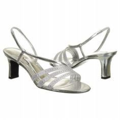 c008ac34e8ac3 The Touch Of Nina Gisepe Heels In Silver Wedge Wedding Shoes